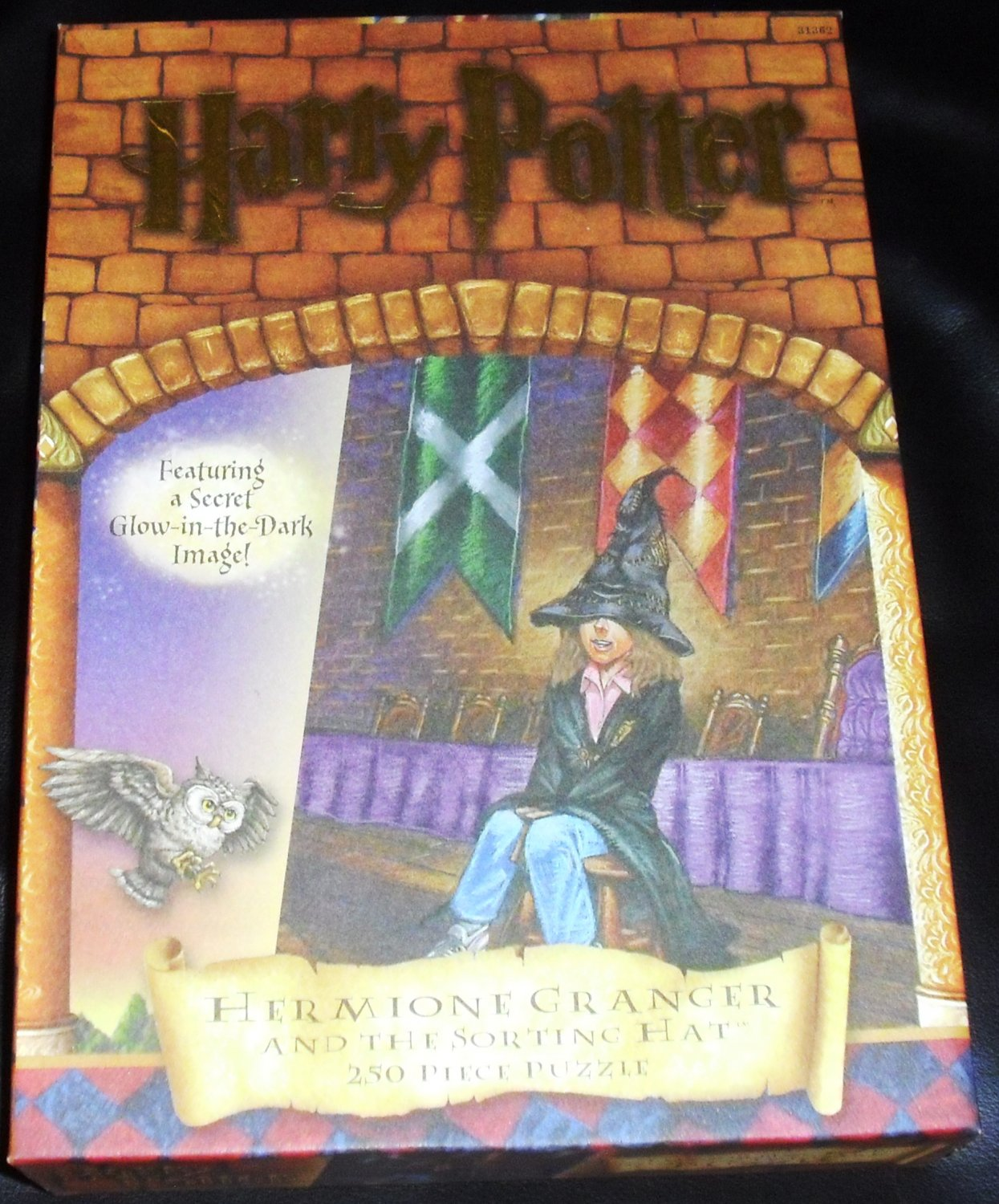Harry Potter The Sorting Hat Glow Puzzle