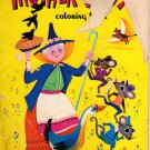 Mother Goose Popular Rhymes Coloring Book by Helen Rudin (Paperback 1984)