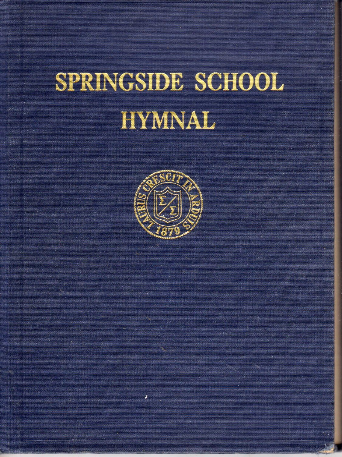 Springside School Hymnal, The Middlesex Hymn Book, 3rd edition by Athur Motter Lamb(Hardcover 1952)