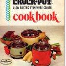 Rival Crock-Pot Cookbook Models 3100, 3101, 3102, 3300