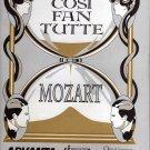 Cosi Fan Tutte by Mozart Opera Company of Philadelphia Activity book (1992)