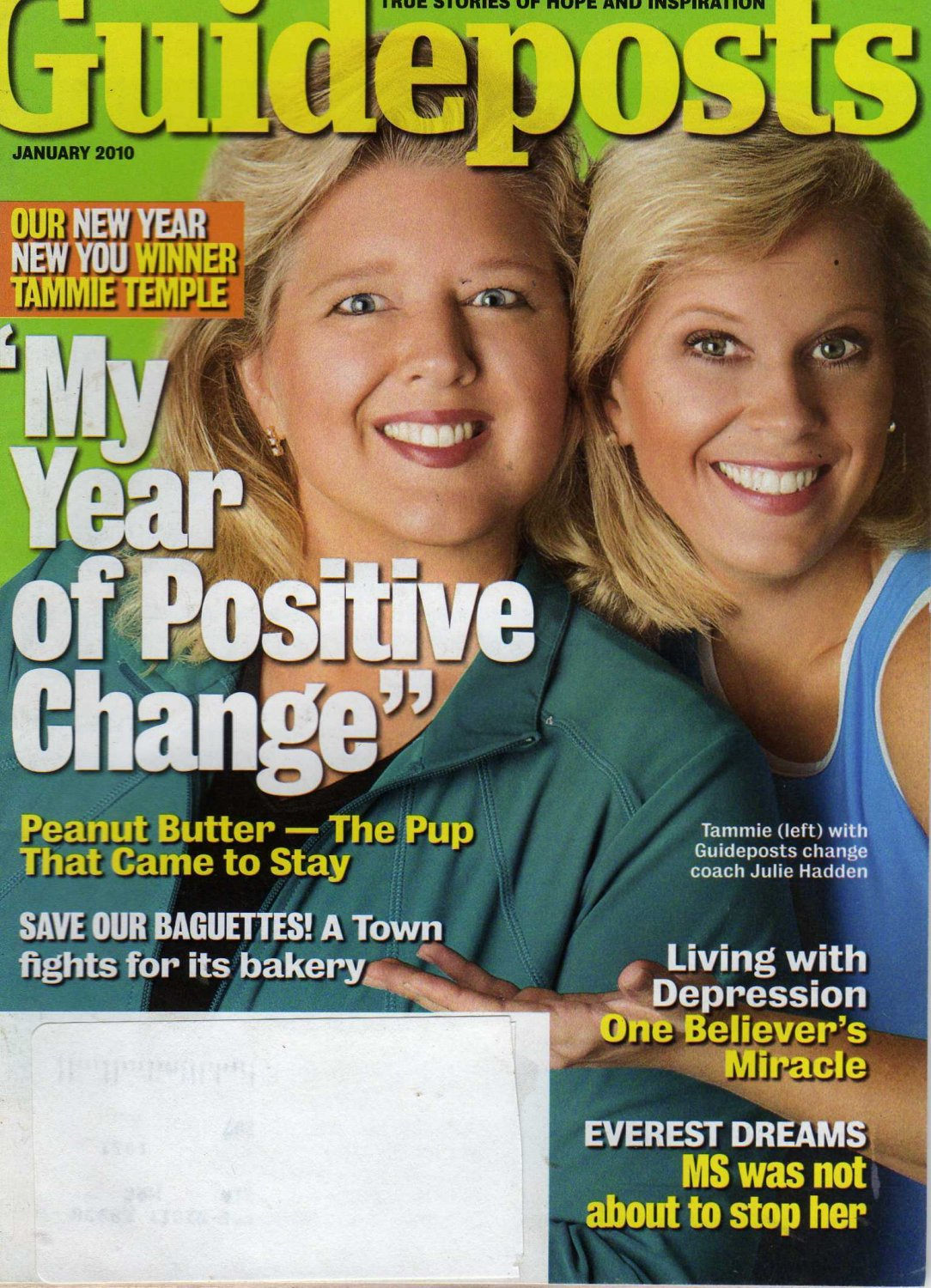 Guideposts Magazine January 2010