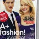 Teen Vogue Magazine (August 2012) Emma Stone, Andrew Garfield - Spiderman