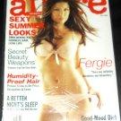 Allure Magazine July 2009 Fergie