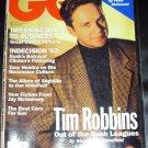 GQ Magazine, October 1992 issue- Tim Robbins