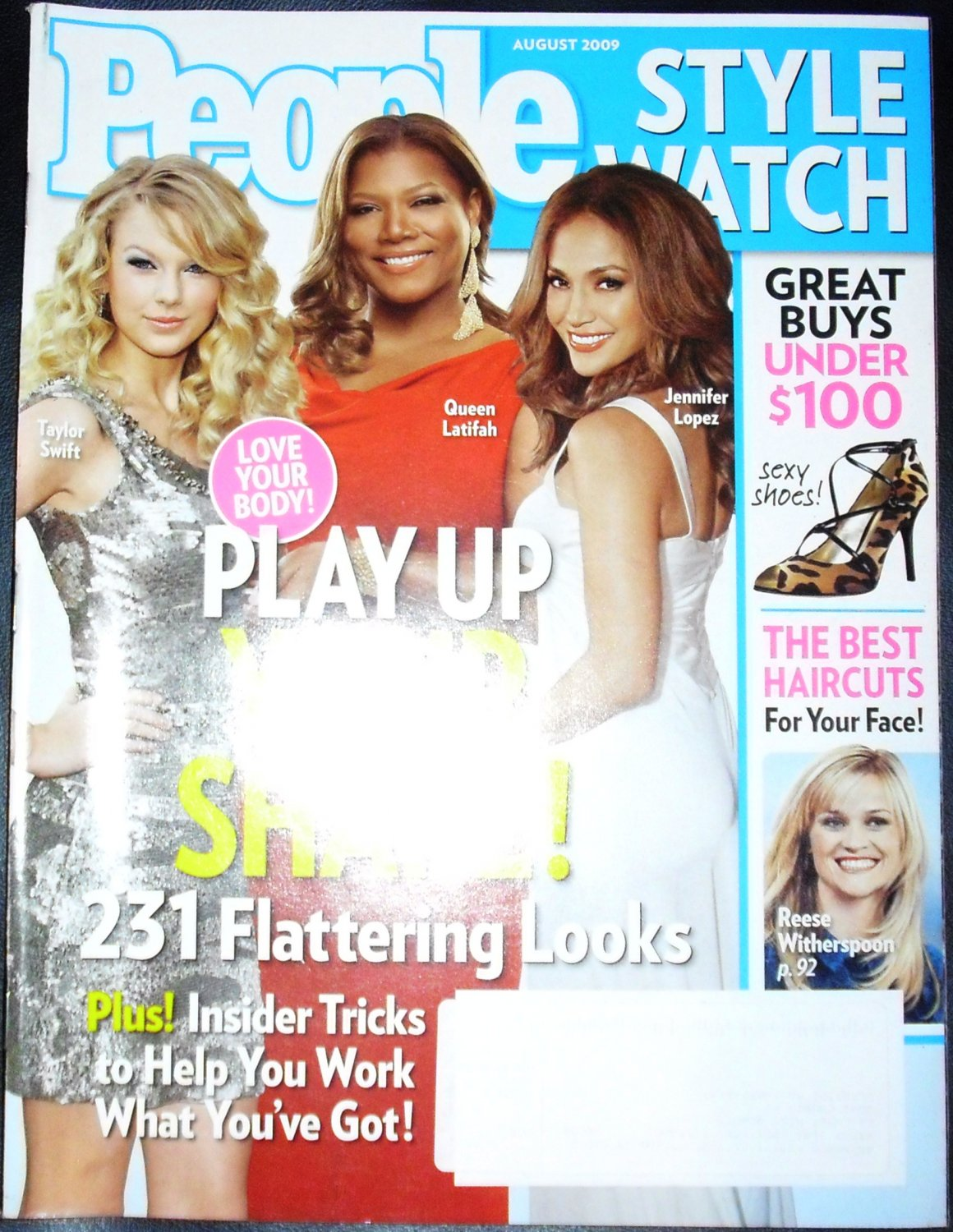 People Style Watch Magazine August 2009