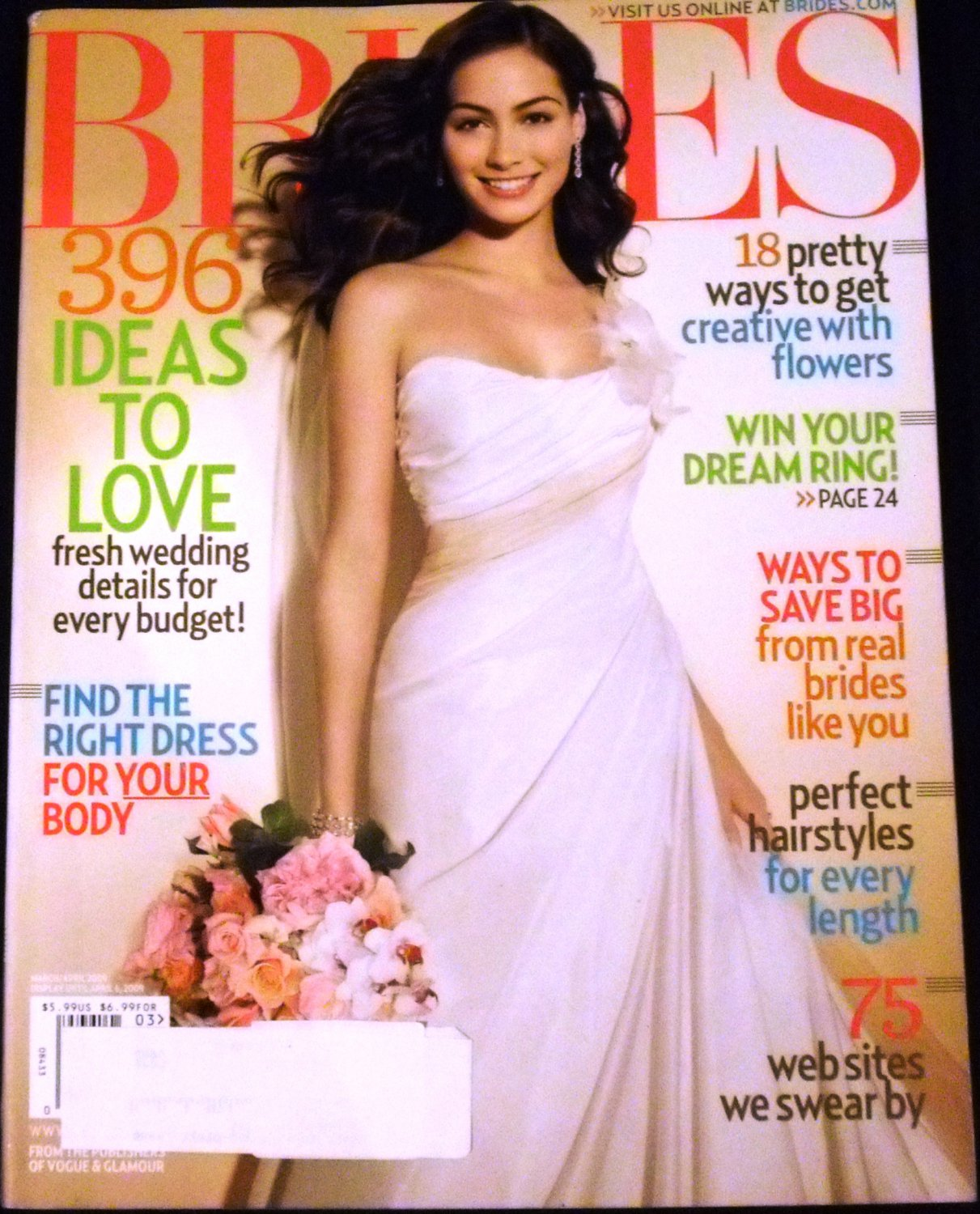 Brides Magazine March April 2009