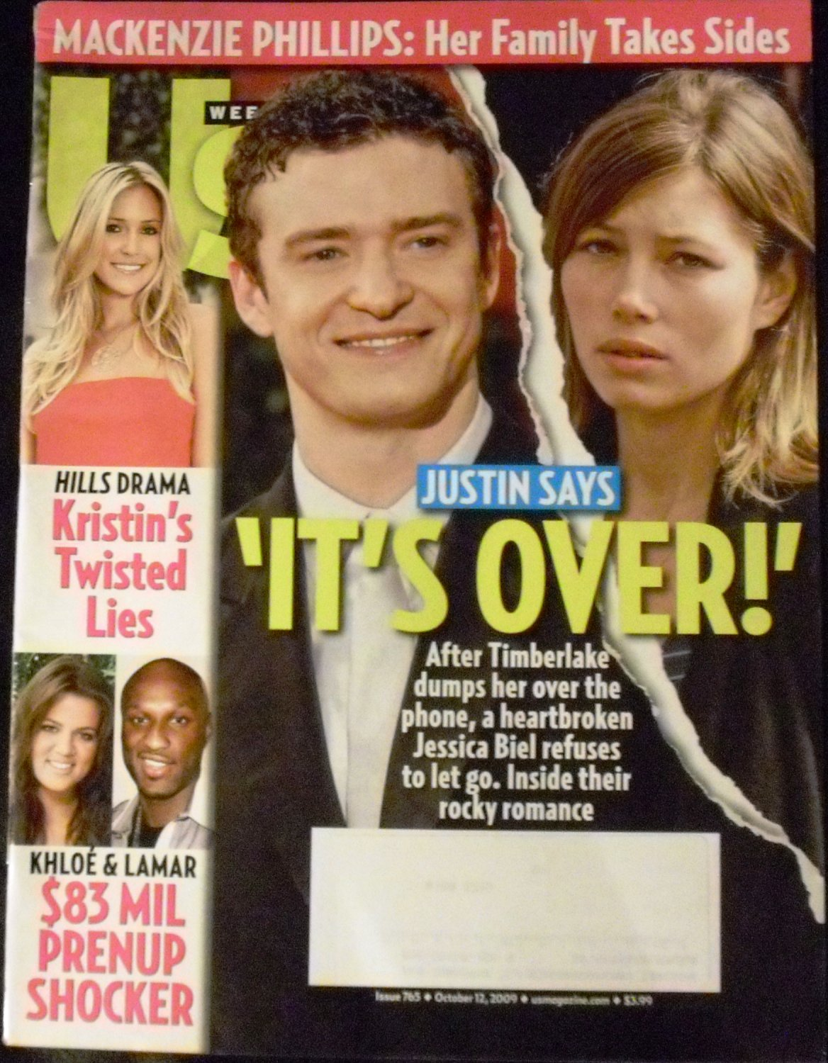 US Weekly Magazine October 12, 2009