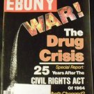 Ebony Magazine August 1989 (Drug Crisis, 25 years civil rights act)