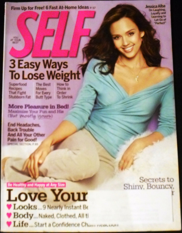 Self Magazine February 2010 (Jessica Alba)