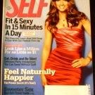Self Magazine December 2009 (Amanda Peet)