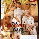 AARP November/December 2010 (Kristen Bell, Jamie Lee Curtis & Betty White)