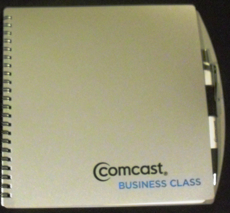 Comcast Business Class Notebook & Pen