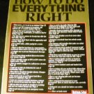 How to Do Everything Right by Bottom Line Personal (Paperback 2003)