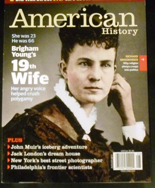 American History Magazine August 2012