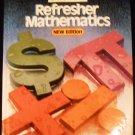 Stein's Refresher Mathematics [Hardcover] Edwin I. Stein (Author)