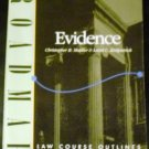 Evidence (Roadmap Law Course Outlines) by Christopher B. Mueller and Laird C. Kirkpatrick (Jun 1997)