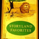 Storyland Favorites by Harold G. And Hester, Kathleen B. (Illustrated By Mary Miller Salem) (1961)