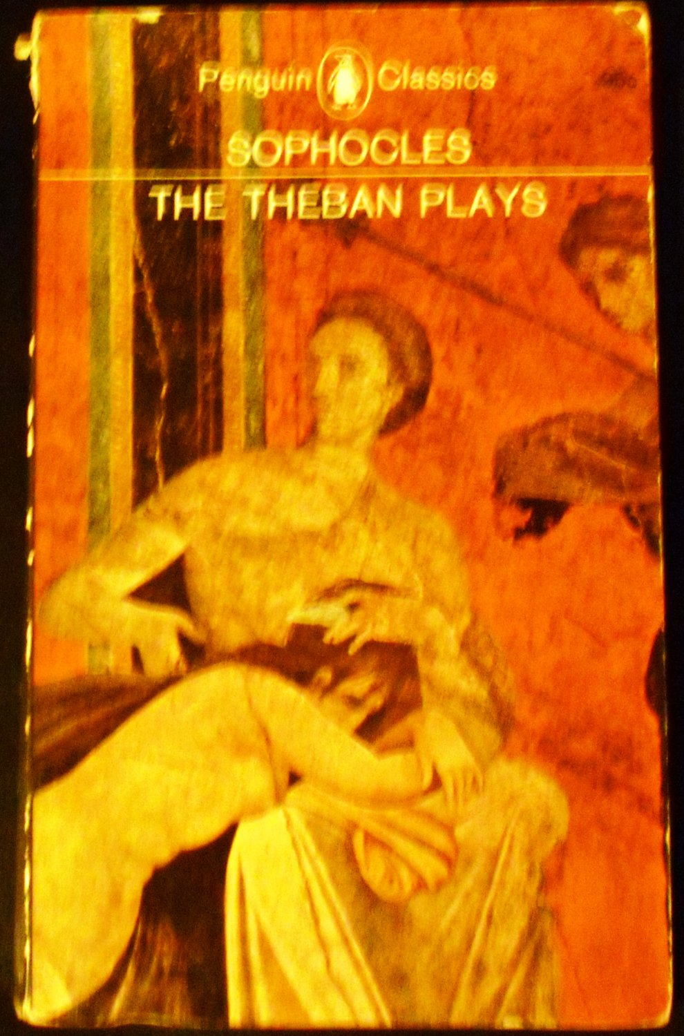 a description of the play oedipus written by sophocles The action of sophocles' play concerns oedipus' search for the murderer of laius in order to end a plague ravaging thebes, unaware that the killer he is looking for is none other than himself at the end of the play, after the truth finally comes to light, jocasta hangs herself while oedipus, horrified at his patricide and incest , proceeds to.