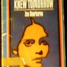 THE GIRL WHO KNEW TOMORROW BY ZOA SHERBURNE (1970)