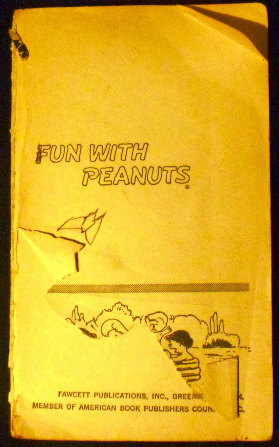 Fun with Peanuts (Paperback) by Charles M. Schulz (Author)  (1970)