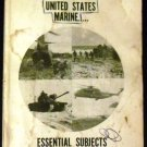 The United States Marine Essential Subjects