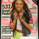 Lucky Magazine January 2013 Jennifer Hudson