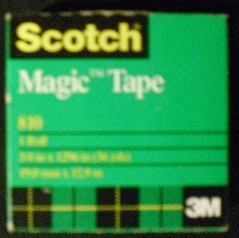 Scotch Magic Tape, 3/4 x 1296 Inches, Boxed, 1 Roll (810)
