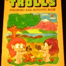 Trolls Coloring and Activity Book by Bud Simpson, illustrated by Arthur Friedman