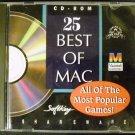 25 Best of Mac Games by SoftKey Shareware - CD ROM  (1995)