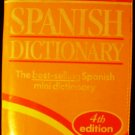 Collins Gem Spanish Dictionary, 4th Edition by HarperCollins and Harper Reference