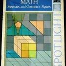 Spotlight Math - Measures and Geometric Figures Blue