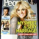 People Magazine April 15, 2013 - Carrie Underwood Sweet & Sexy Marriage