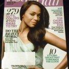 Instyle Hair Magazine, Spring 2013 Issue - Zoe Saldana!