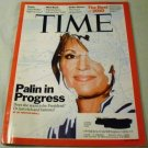 Time Magazine December 20, 2010 -Sarah Palin. Palin in Progress. Does She Want to be President?