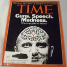 Time Magazine January 24, 2011 Jared Loughner on Cover, Special Report: Tragedy in Tuscon Arizona