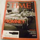 Time Magazine: June 4, 2012 Raising Romney