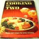 Better Homes and Gardens Cooking for Two: Menus and Recipes for Every Occasion [Hardcover]
