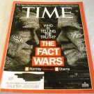 Time Magazine October 15, 2012 Who's Telling The Truth? The Fact Wars