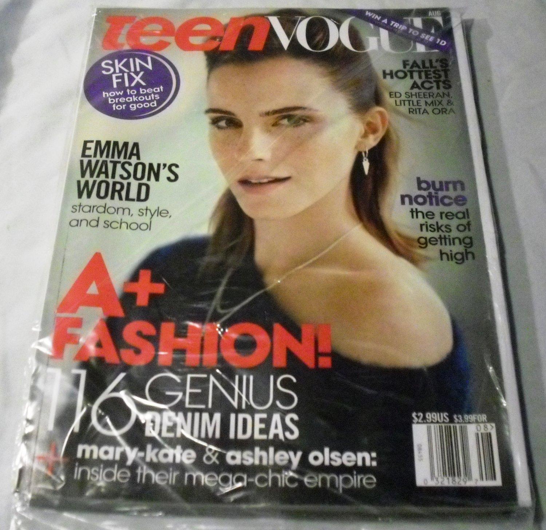 Teen Vogue Magazine August 2013 Emma Watson