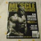Muscle & Performance Magazine Sepatember 2013 - Kai Greene