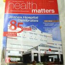 Jeans Hospital Health Matters Summers 2013 Catalog