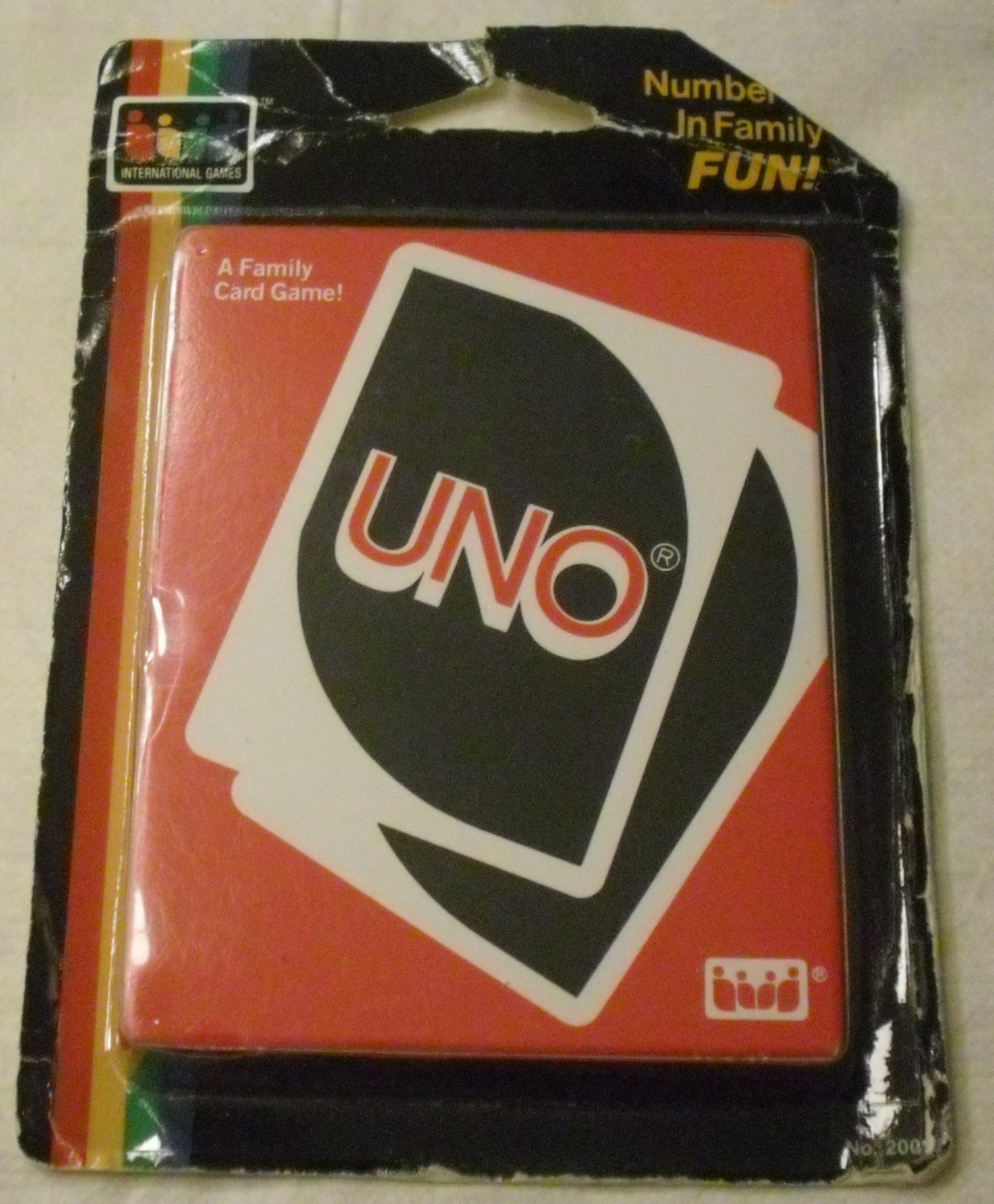 UNO PLAYING CARDS Card Game
