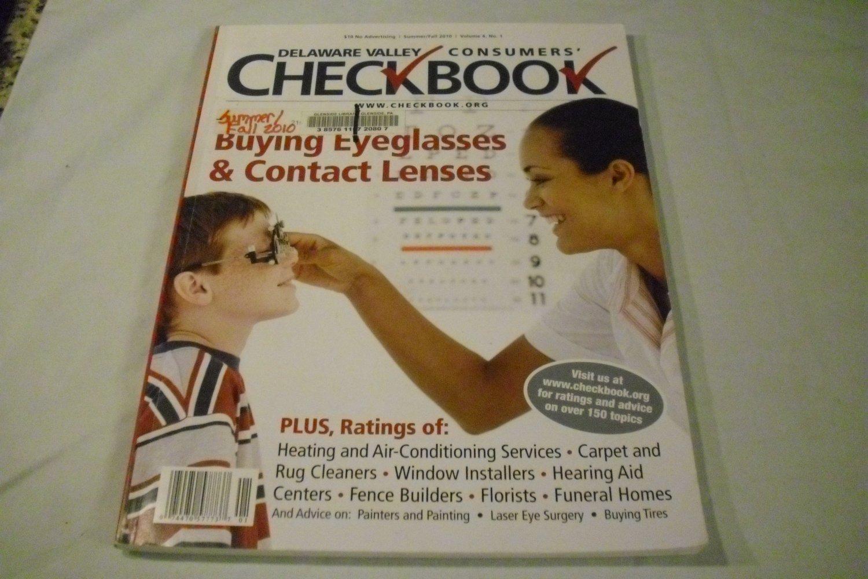 Delaware Valley Consumers' Checkbook Summer/Fall 2010 Vol 4, No. 1