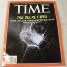TIME MAGAZINE NOVEMBER 11,2013 - The Secret Web