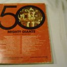50 Mighty Giants  Arranged by Michael Allen (C or G CHRD ORGAN)