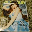 Glamour Magazine, Zooey Deschanel, February 2013