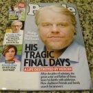 PEOPLE Magazine February 17, 2014 Philip Seymour Hoffman HIS TRAGIC FINAL DAYS