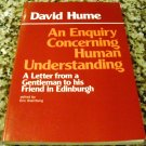 An Enquiry Concerning Human Understanding: A Letter from... by David Hume & E. Steinberg (1977)