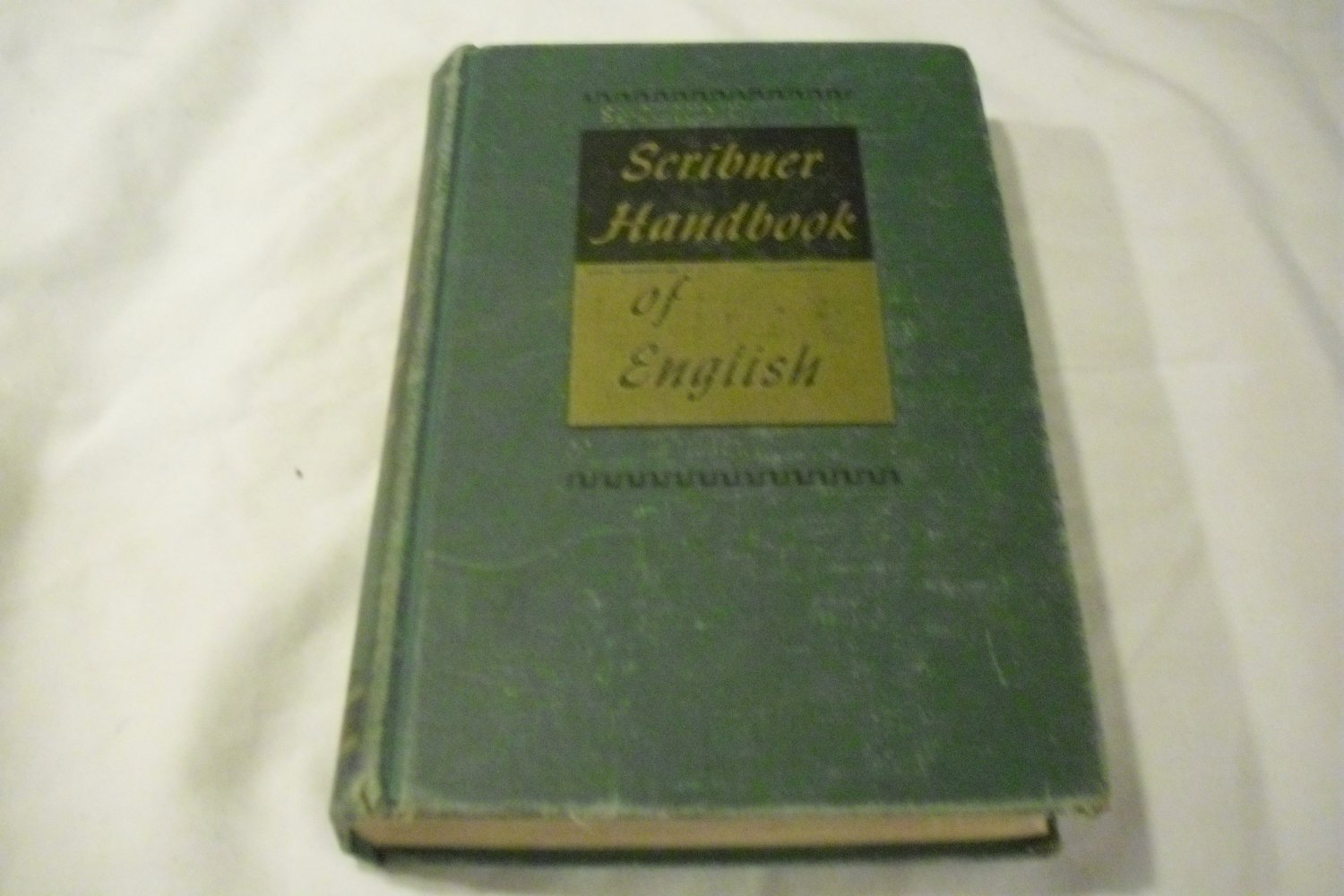 Scribner Handbook of English, 2nd Edition by Albert H. Marckwardt and Frederic G. Cassidy (1948)